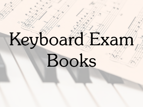 Keyboard Exam Books